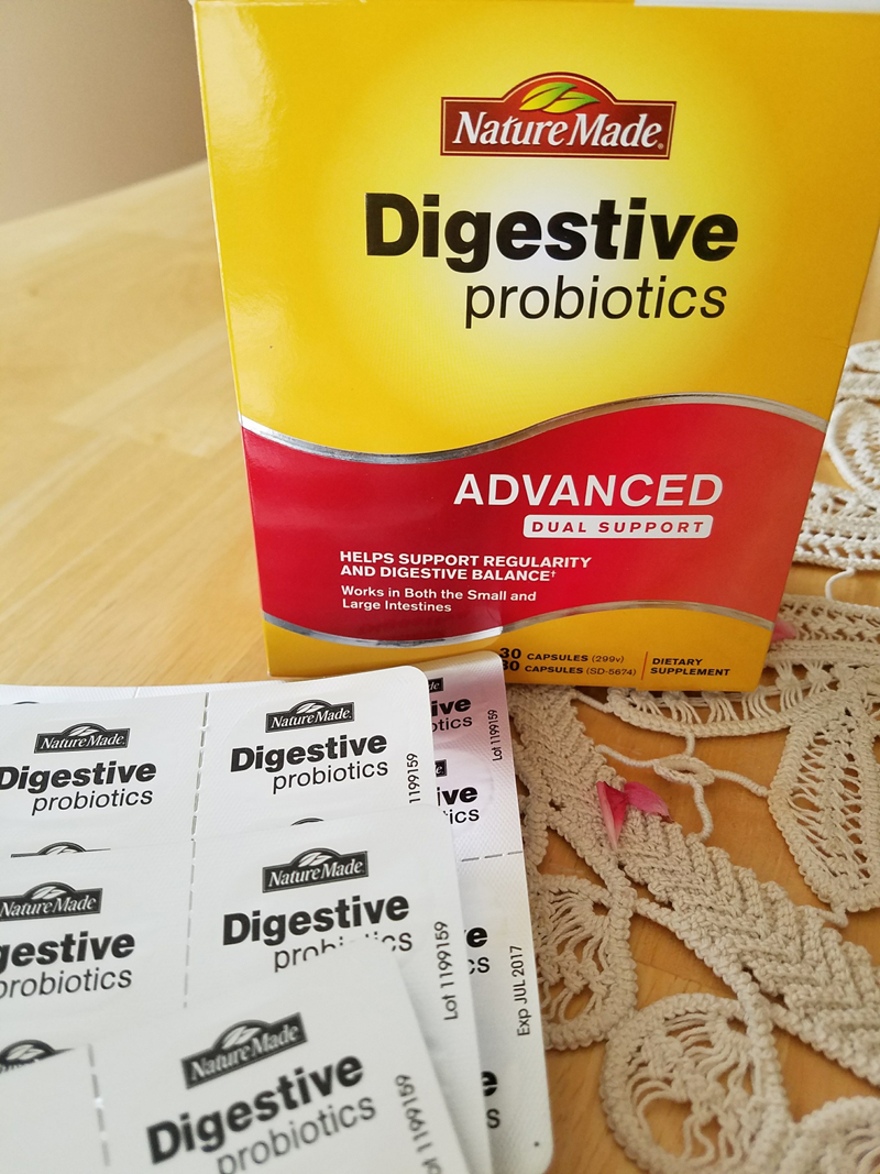 Nature Made Digestive Probiotics Dual Support