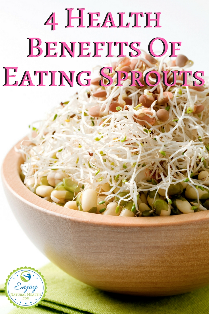 Are you aware of the health benefits of eating sprouts? Here are 4 ways to improve your health with sprouts ;)