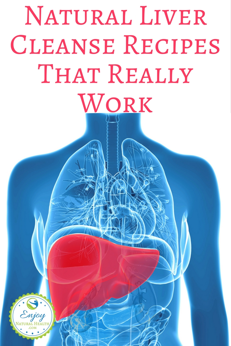 Here's how I keep my liver working properly. These natural liver cleanse recipes and ideas are keeping me healthy.