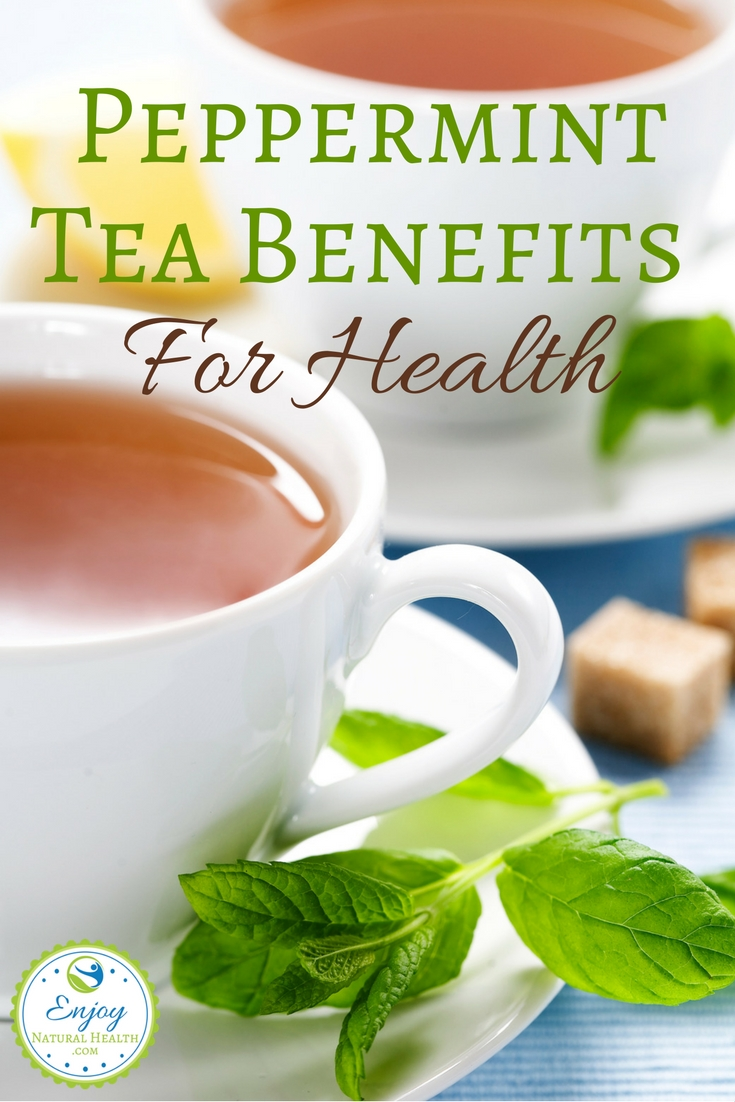 Here are 5 reasons to drink peppermint tea. Stay healthy with natural remedies you can get from your garden. Peppermint Tea Benefits For Health
