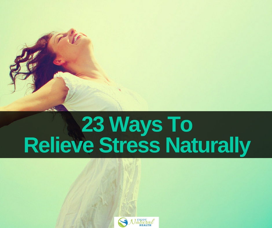 How relieve stress the natural way